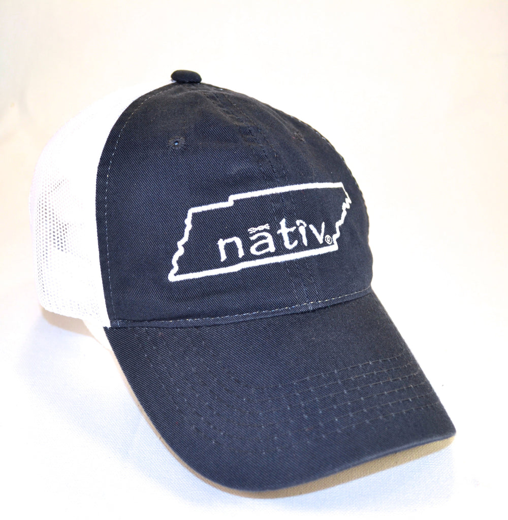 tennessee nativ vintage navy trucker