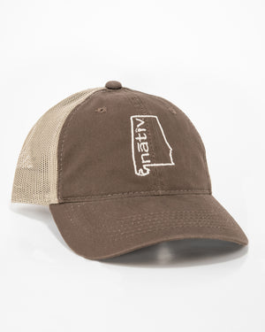 alabama nativ brown trucker