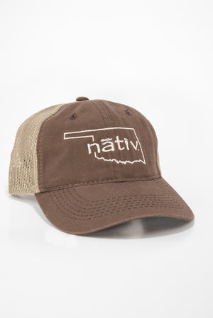 oklahoma nativ brown trucker
