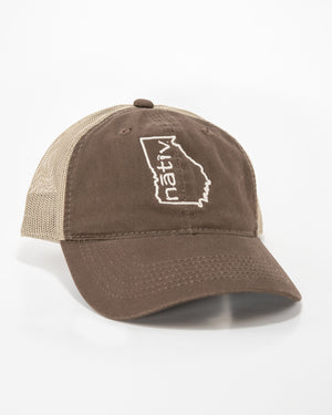 georgia nativ brown trucker