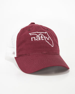 florida nativ cardinal trucker