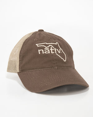 florida brown trucker