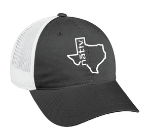 texas nativ grey trucker