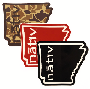 arkansas nativ sticker pack