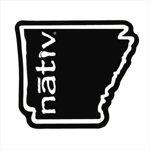 arkansas nativ sticker