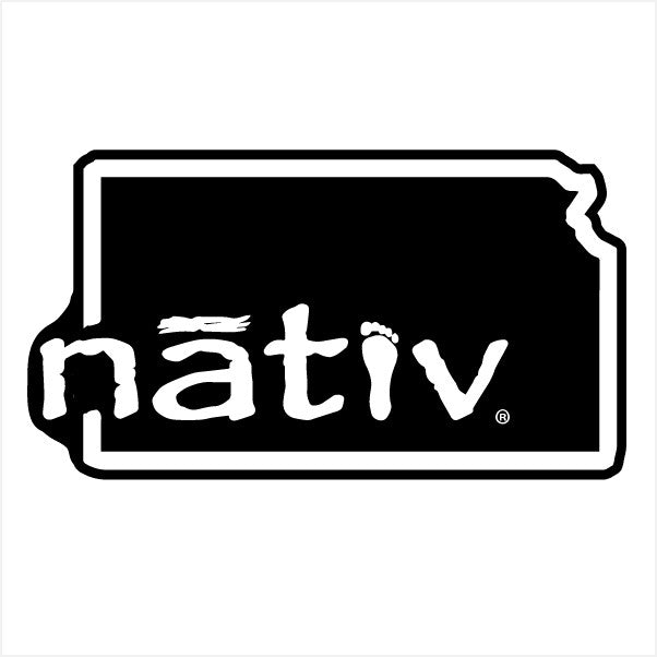 kansas nativ sticker