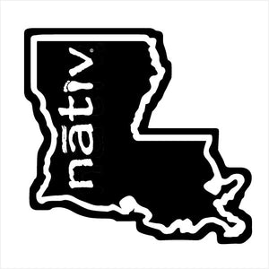 louisiana nativ sticker