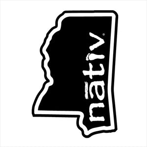 mississippi nativ sticker