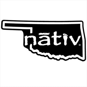 oklahoma nativ sticker