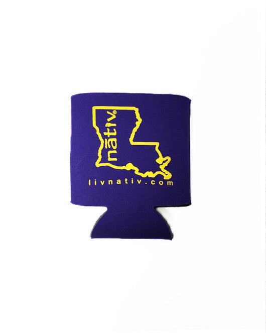 louisiana nativ koozie