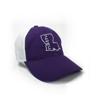 louisiana nativ purple trucker