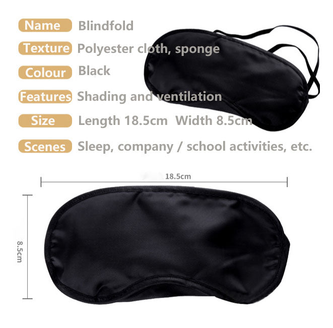 Lightweight breathable eye mask