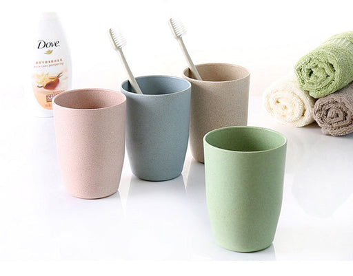 Wheat straw mug 2PCS