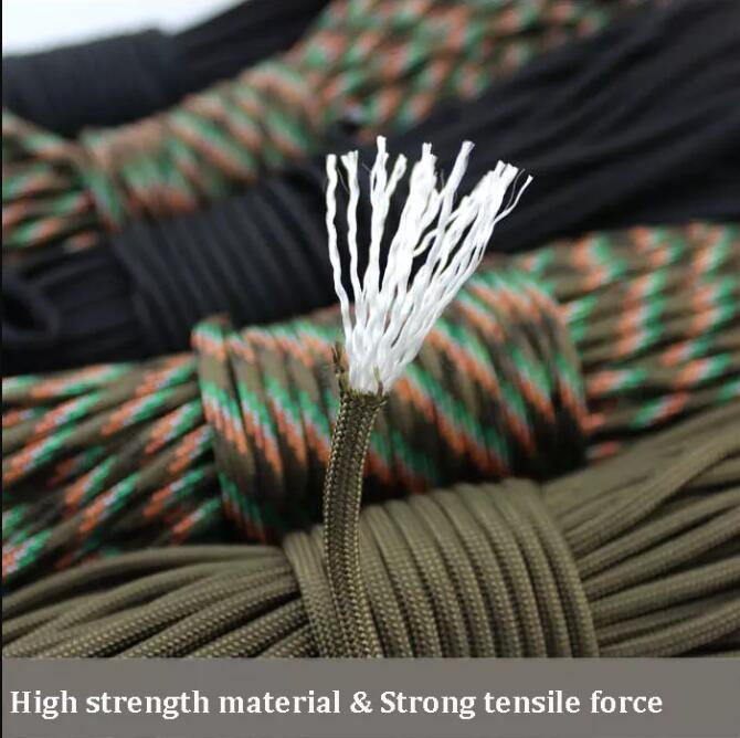 High strength nylon rope