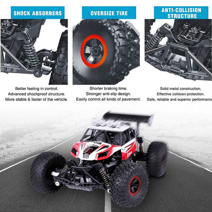 High-speed competitive 2.4G rechargeable remote control car