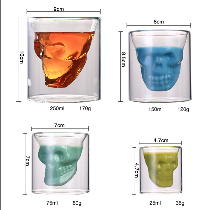 Creative 4 size double wall cup