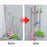 Wall-mounted seamless mop bracket 2PCS