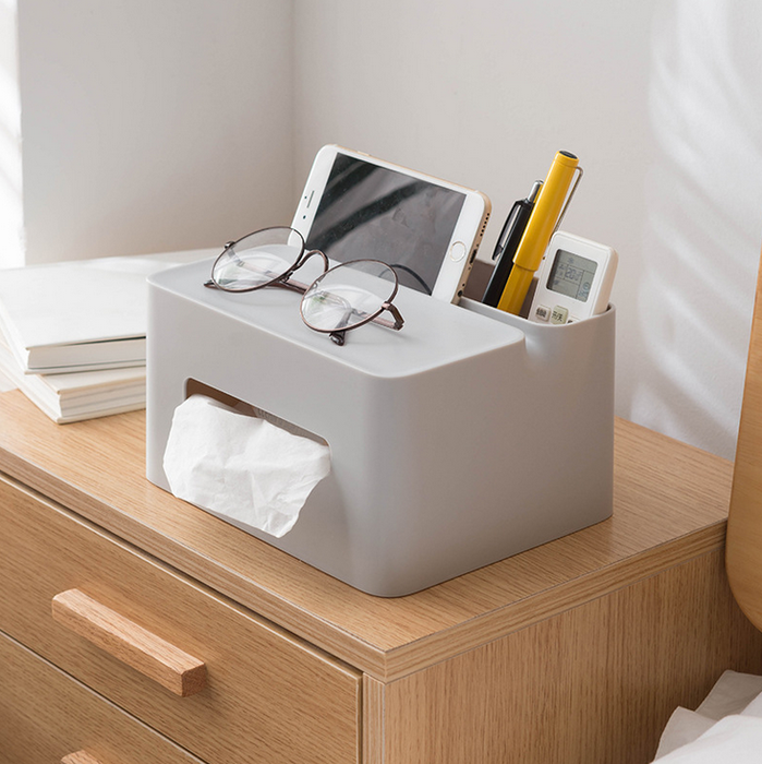 Multi-function tissue box