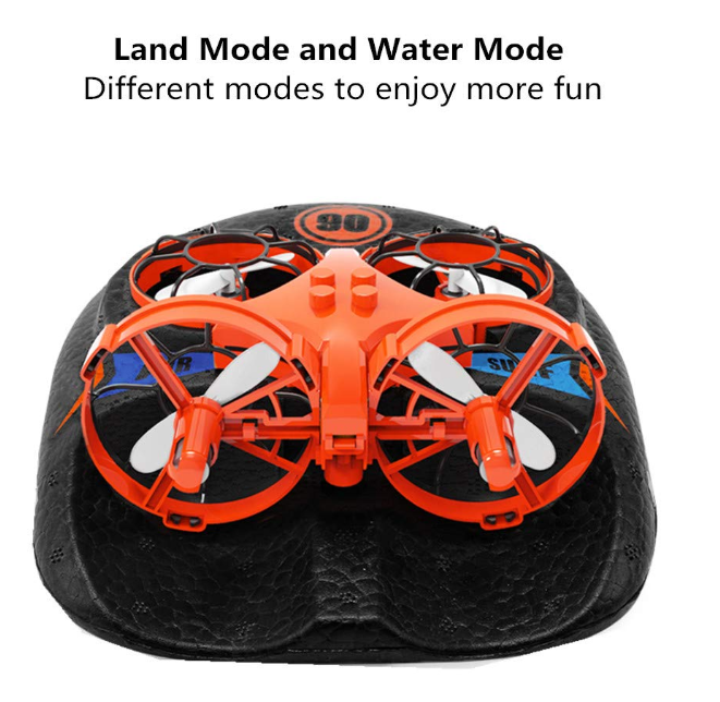 Land, sea and air toys