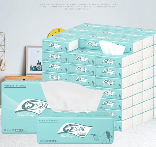 Household Paper baby paper Toilet Paper Tissue Paper Toilet Paper Pumping Napkin Paper Soft Skin-Friendly Paper Towels