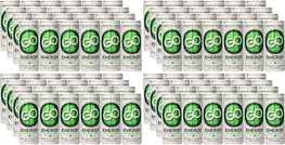 GO Energy - (Qty: 96 cans, 8.4 oz) - FREE SHIPPING