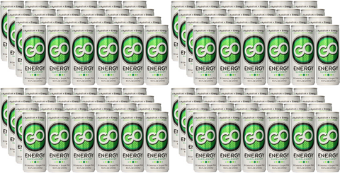 GO Energy - 4 cases (96 cans) - FREE SHIPPING