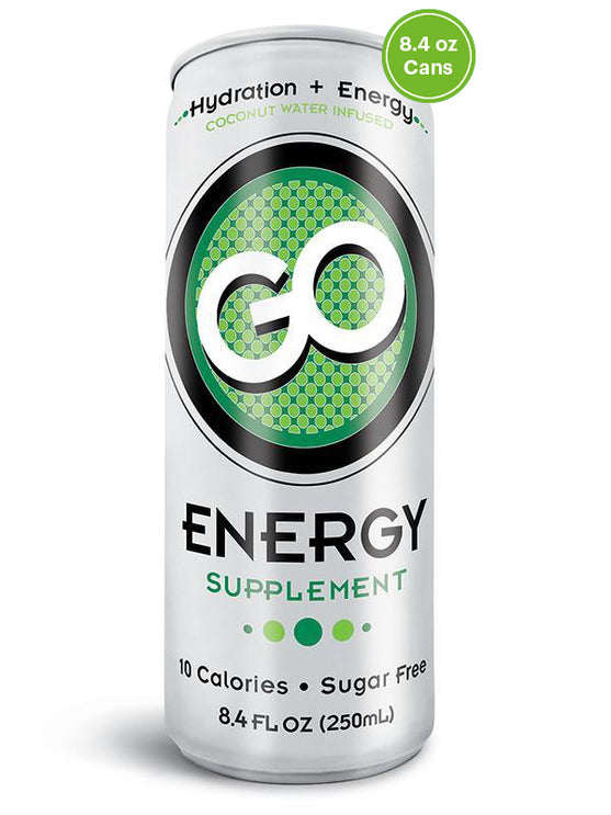 GO Energy - 1 case (24 cans) - FREE SHIPPING
