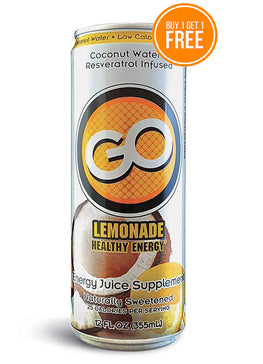 GO LEMONADE      (Qty: 48 cans, 12 oz)  BUY ONE GET ONE FREE & FREE SHIPPING!