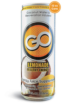 GO LEMONADE      (Qty: 24 cans, 12 oz)  BUY ONE GET ONE FREE & FREE SHIPPING!