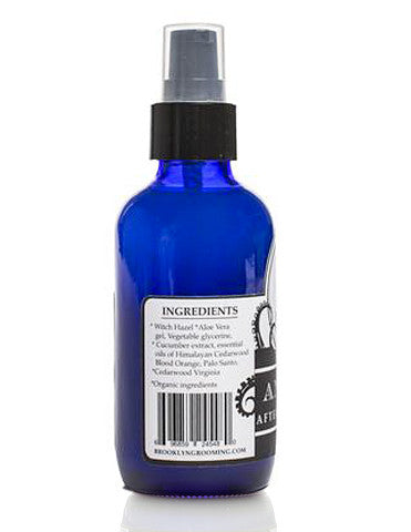 Vegan friendly aftershave tonic