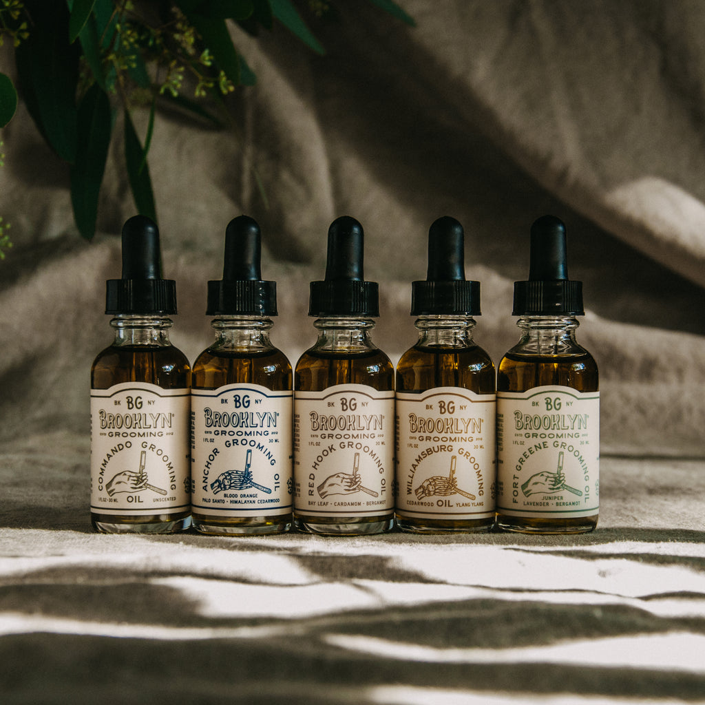 Fort Greene Grooming Oil (Formerly Beard Oil) - Brooklyn Grooming