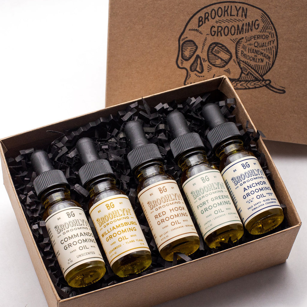 Grooming Oil sampler kit - Brooklyn Grooming