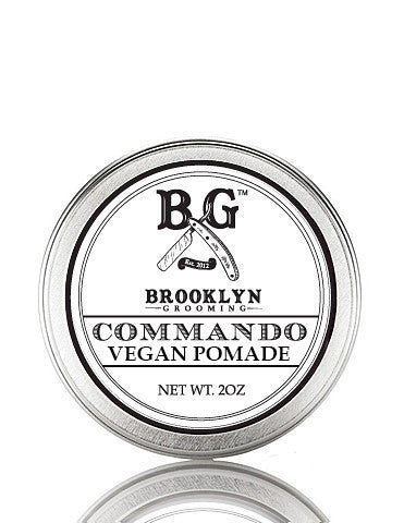 Vegan Commando Hair Pomade 2 oz. - Brooklyn Grooming