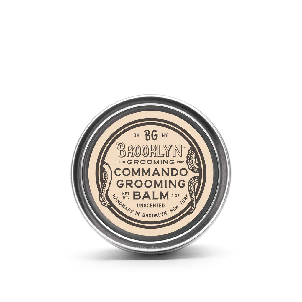 Commando Grooming Balm (Formerly Beard Balm) - Brooklyn Grooming