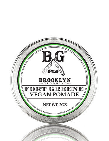 Vegan Fort Greene Hair Pomade 2 oz. - Brooklyn Grooming