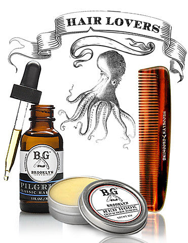 Men's Grooming Products - natural hair products