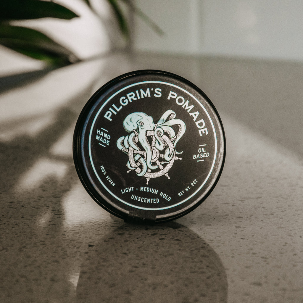 Pilgrim's® Vegan Pomade (Unscented) - Brooklyn Grooming