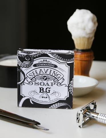 Commando Shaving Soap - Brooklyn Grooming