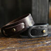 Kraken Leather Bracelet in Black - Brooklyn Grooming