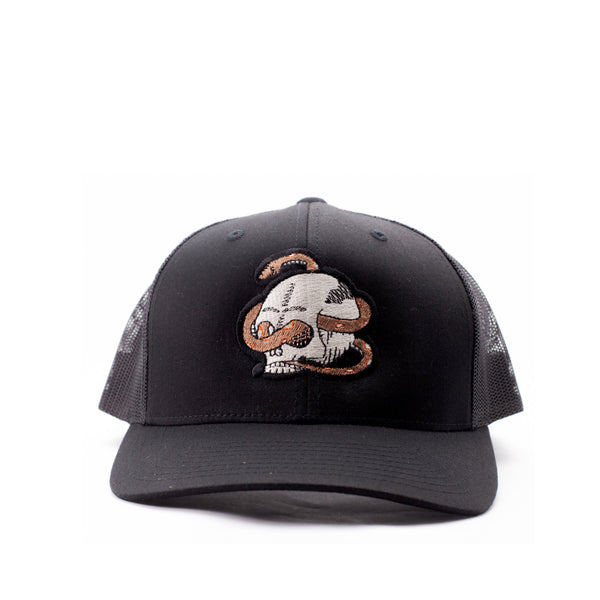 "The ""Evan"" Skull and Snake Hat - Brooklyn Grooming"