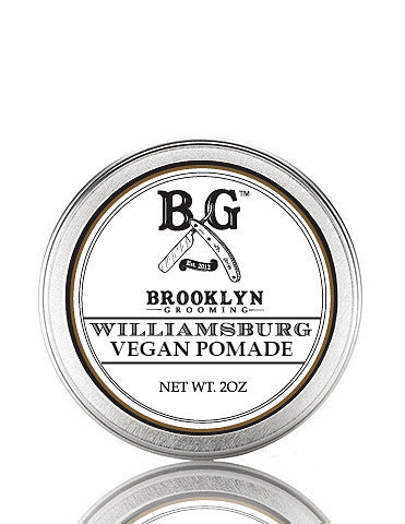 Vegan Williamsburg Hair Pomade 2 oz. - Brooklyn Grooming