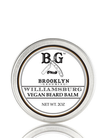 Vegan Classic Beard Balm - Williamsburg 2oz. - Brooklyn Grooming