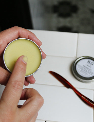 how to apply beard balm