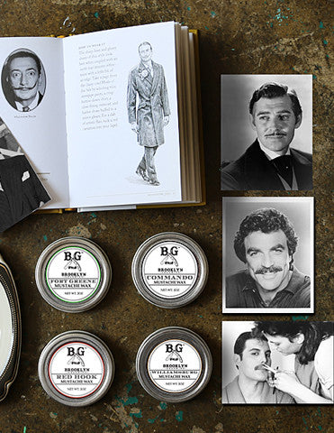 small batch mustache wax
