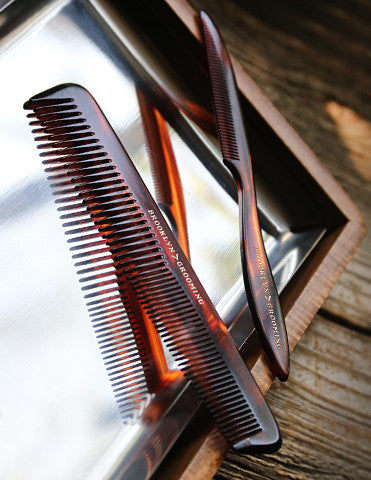 Men's Handmade Pocket Comb by Brooklyn Grooming - Brooklyn Grooming