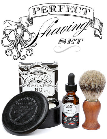 perfect shaving set brooklyn grooming. Black Bedroom Furniture Sets. Home Design Ideas