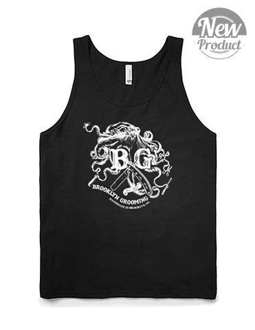 Men's Octopus Tank top - Brooklyn Grooming