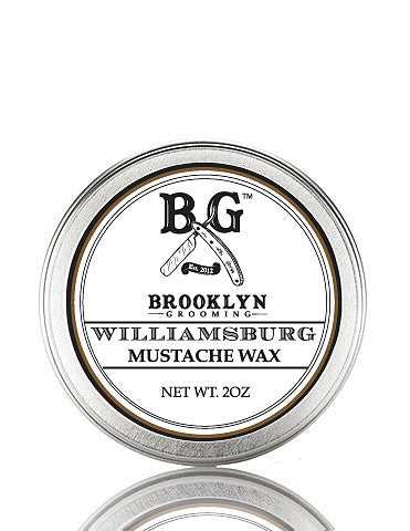 Williamsburg Mustache Wax 2 oz. - Brooklyn Grooming