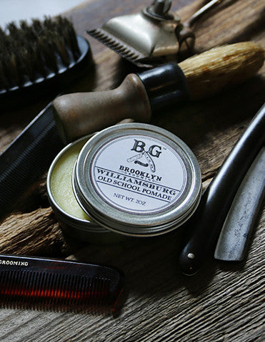 Men's Grooming Products - Williamsburg Hair Pomade