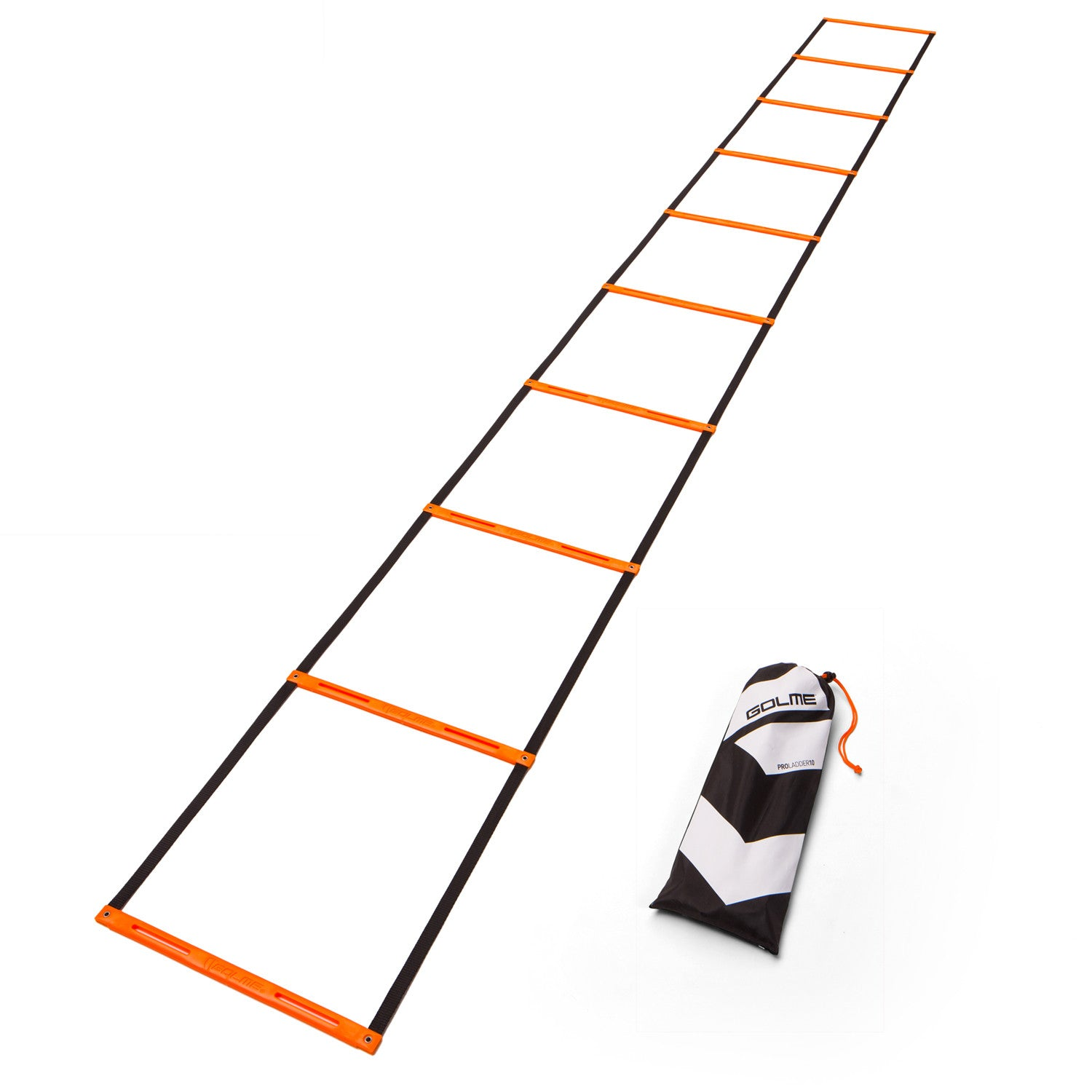 GOLME PRO Speed + Agility Ladder Seamless Design